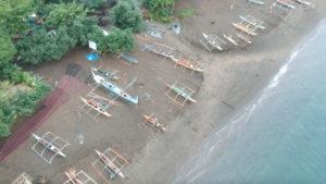 Fishing boats in Bicol